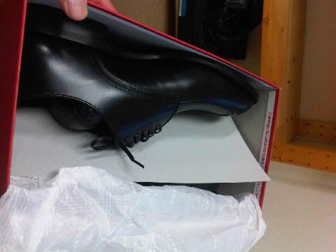 インターネットで靴を買うという愚行。